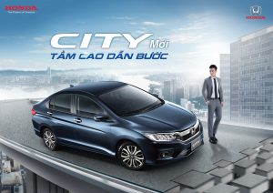 HONDA CITY 2017 - 1.5 TOP