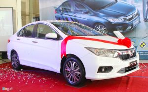 HONDA CITY 2017 - 1.5 CVT Base